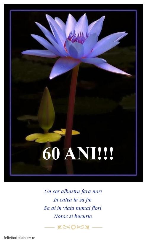 60 ANI!!!