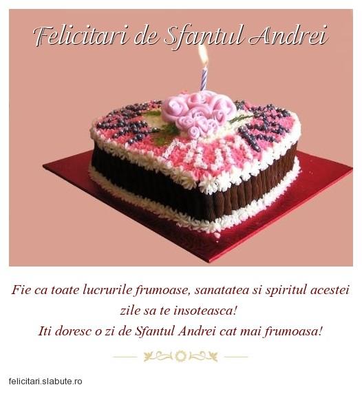 Poza felicitare Felicitari de Sfantul Andrei