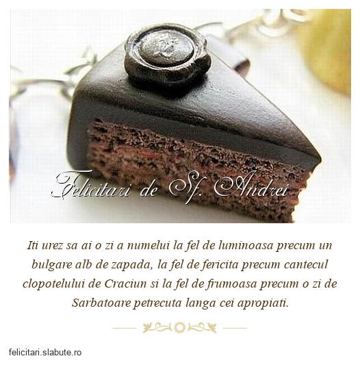 Felicitari de Sf. Andrei