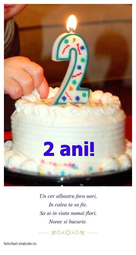 Poza felicitare 2 ani!