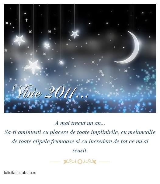 Poza felicitare Vine 2011...