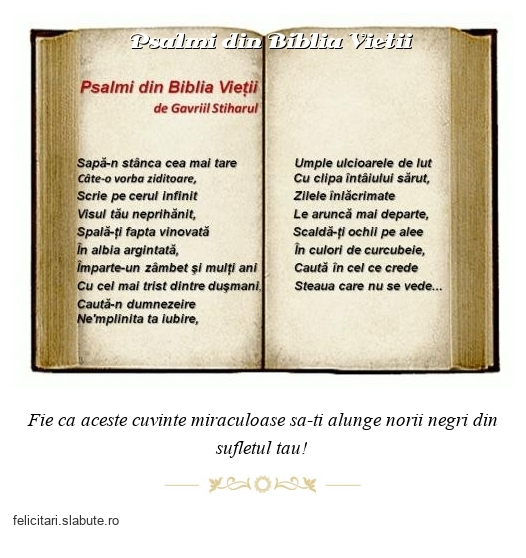 Psalmi din Biblia Vietii