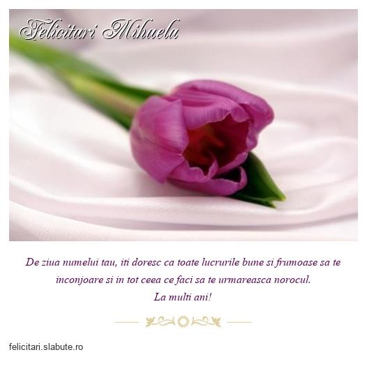 Felicitari Mihaela